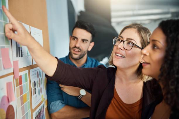 Die Teamarbeit hinter ein brillantes Konzept – Foto
