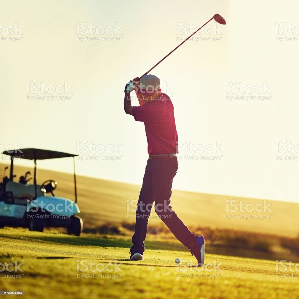 The technique golfing legends are made of royalty-free stock photo