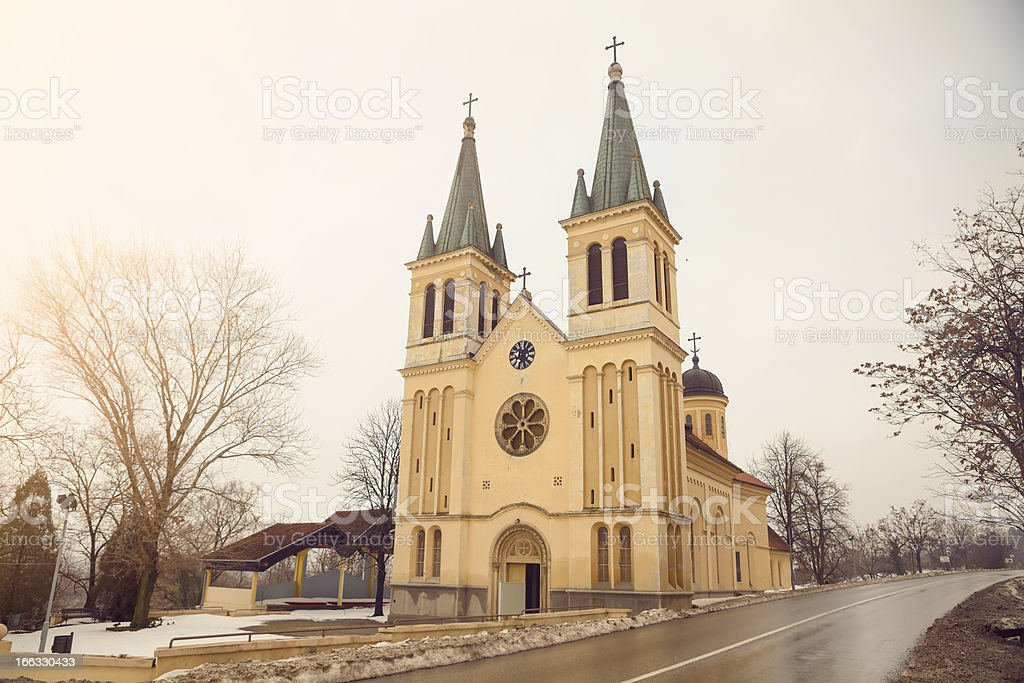 The Tekije Church, Novi Sad, Serbia stock photo