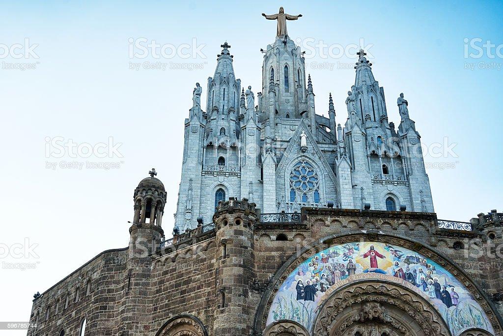 The Temple del Sagrat Cor, Barcelona. Spain 2016. stock photo