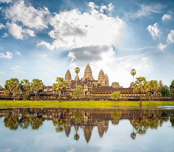 Die Tempel von Angkor Wat In Kambodscha – Foto