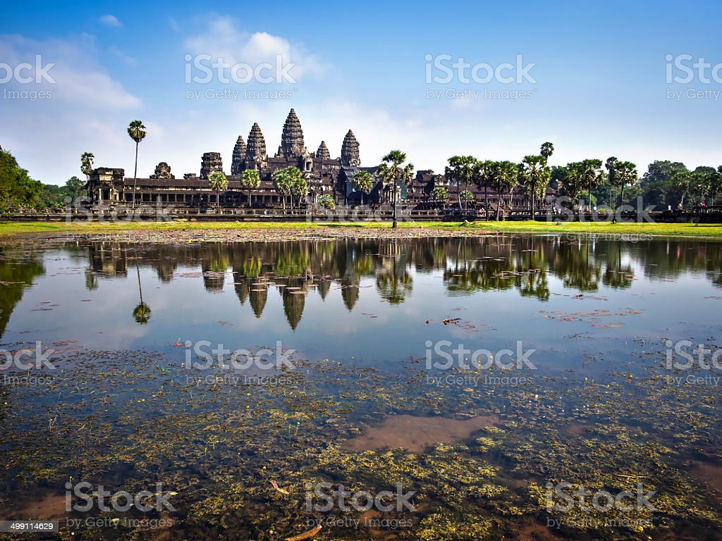 The Temple of Angkor Wat, Siem Reap, Cambodia stock photo