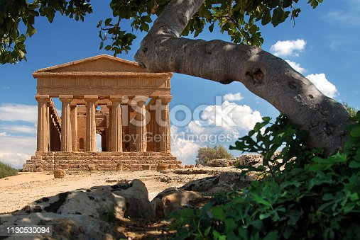 The temple of Concordia, built around the 5th century, is among the best preserved temples. In the sixth century it was transformed into a sacred building. The name Concordia comes from a Latin inscription found near the temple itself.