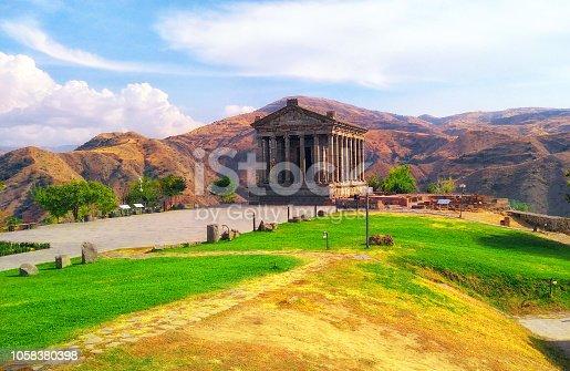 istock The Temple of Garni, Armenia.UNESCO World heritage museum 1058380398