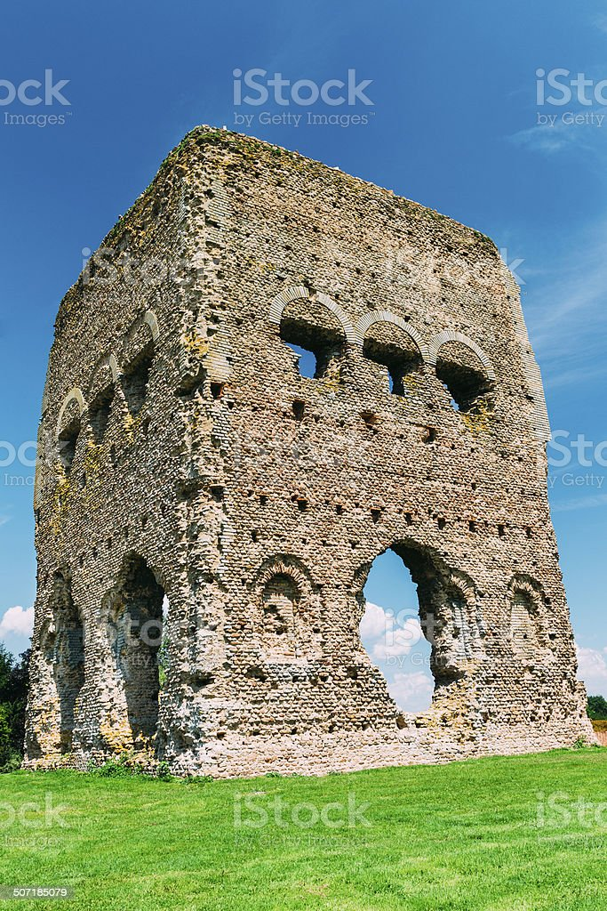 The Temple of Janus at Autun in France. stock photo