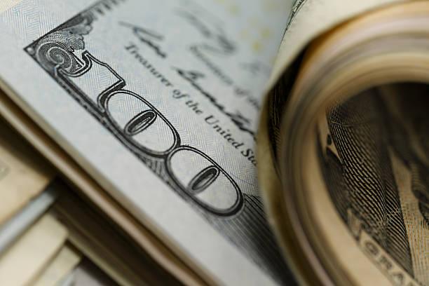 la tentation de l'argent - symbole du dollar photos et images de collection