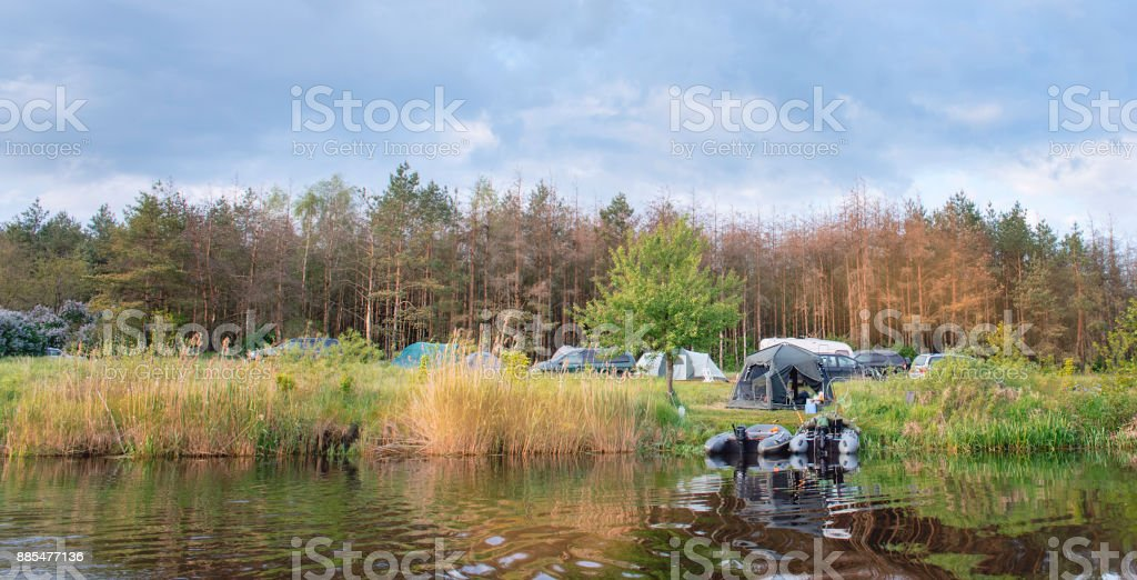 The tent town on the bank of the big river. A travel on the nature & The Tent Town On The Bank Of The Big River A Travel On The Nature ...