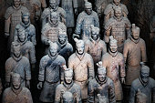 Army of the Terracotta Warriors near Xian in China.