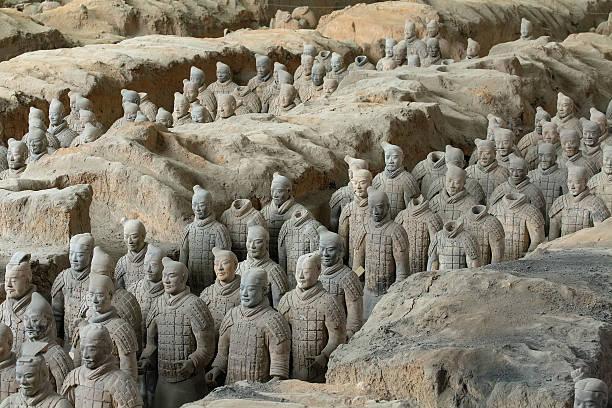 die terrakotta-armee - imperialismus stock-fotos und bilder