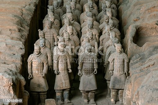 istock The Terracotta Army warriors at the tomb- China First Emperor in Xian-Unesco World Heritage site- Xian- Shaanxi- China -Asia 1130454949