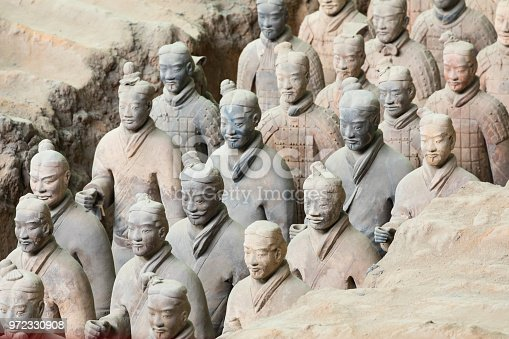 istock The Terracotta Army warriors at the tomb of China's First Emperor in Xian. Unesco World Heritage site. 972330908