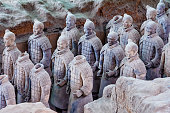 Xian, China - August 18, 2011: The Terracotta Army or the \