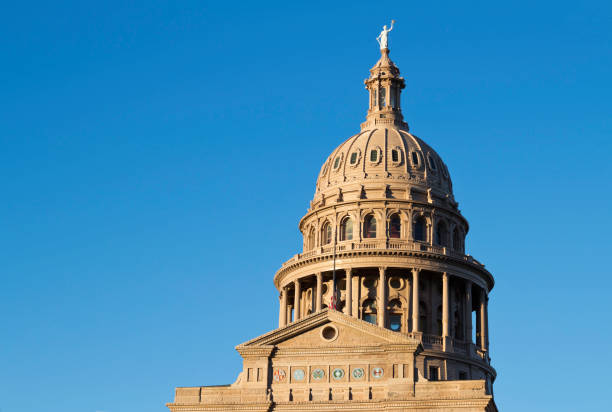 The Texas State Capitol building in Austin, Texas, U.S.A.