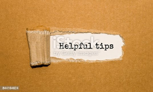 istock The text Helpful tips appearing behind torn brown paper 844164624