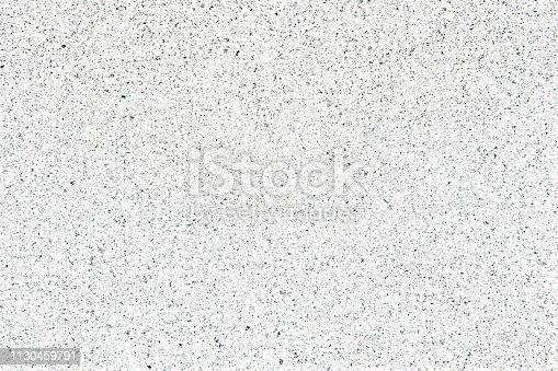 Top view of the texture of black and white stone (minerals) crumb. Black nd white abstract background. Copy space.