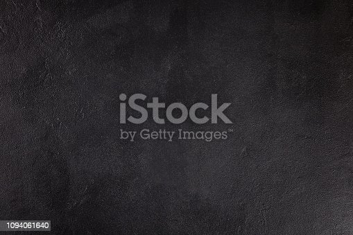 istock The texture of concrete. Fragment of black concrete. Top view. Painted texture. Concrete background. 1094061640