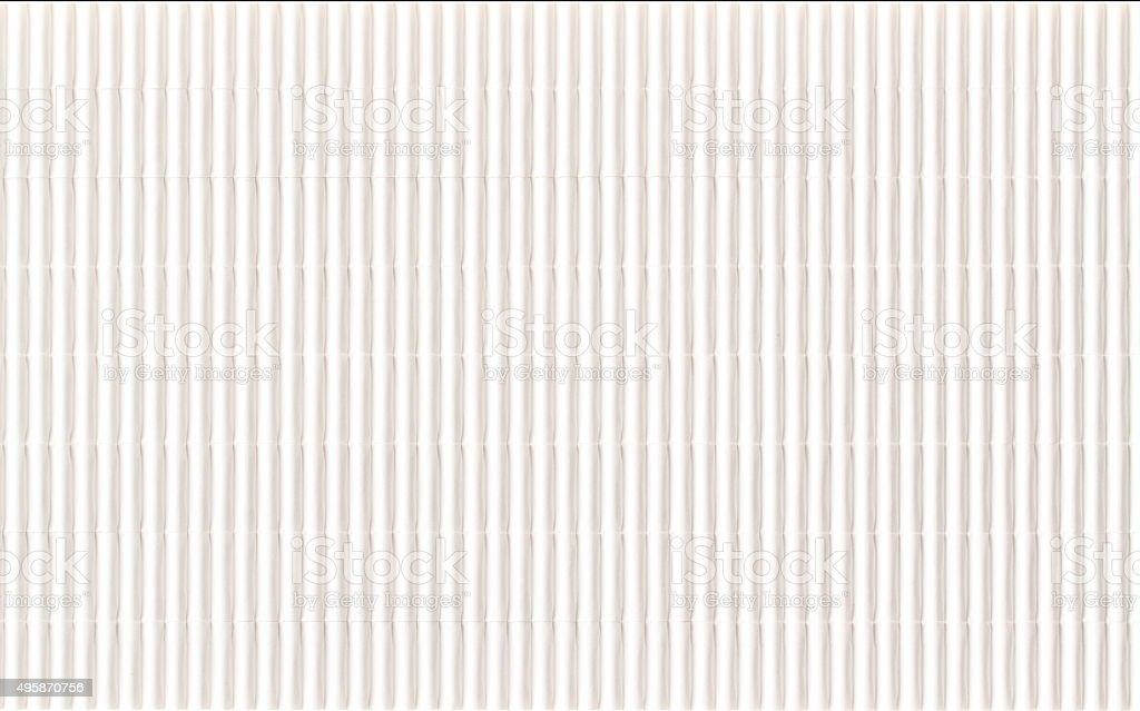 Гофрированной бумаги текстуры. стоковое фото