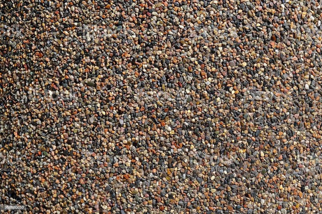 the texture of fine gravel stock photo