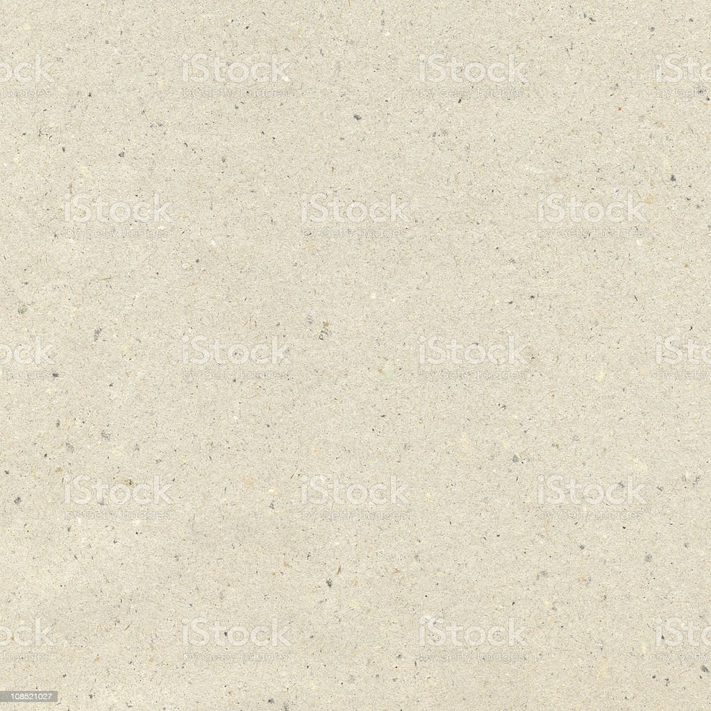 The texture of recycled paper. stock photo