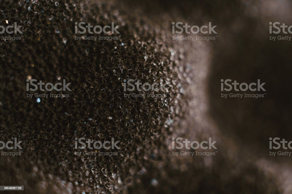the texture of the foam royalty-free stock photo