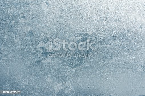 istock The texture of the ice. The frozen water.Winter background 1094738532