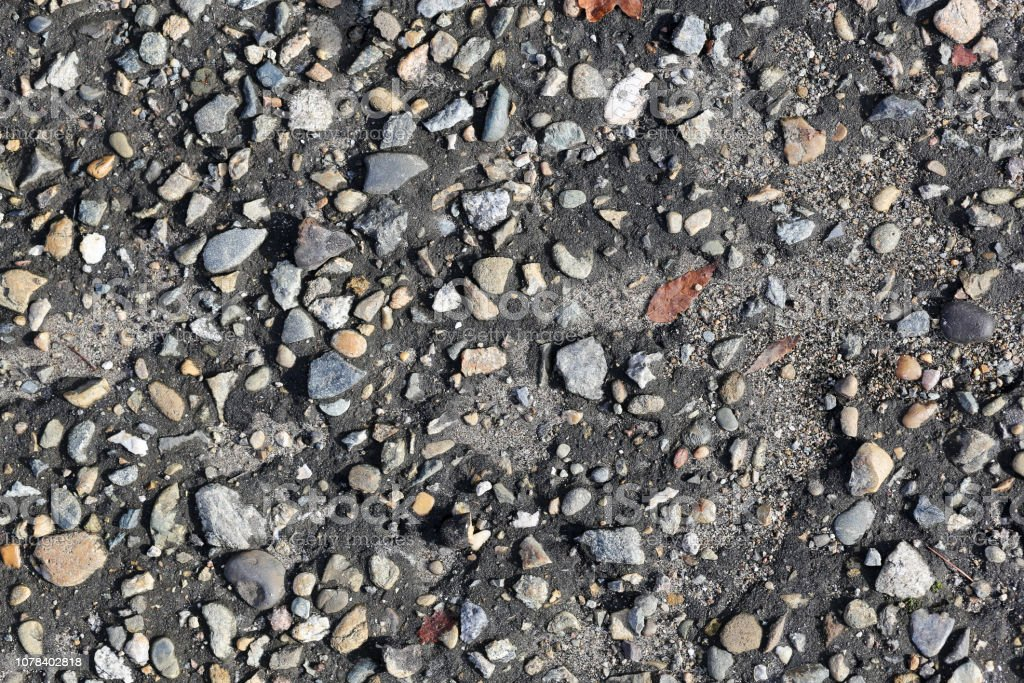 the texture of the old asphalt. background stock photo