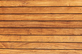 The texture of the pine boards.