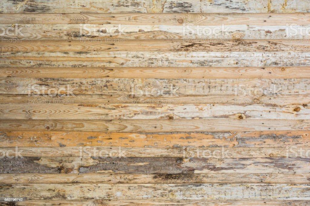 Houten Planken Aan De Muur.De Textuur Van De Muur Gemaakt Van Houten Planken