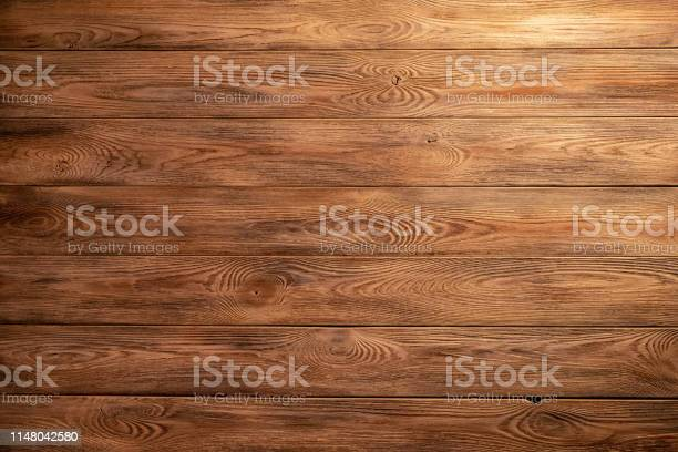 Photo of The texture of the wooden background of the boards