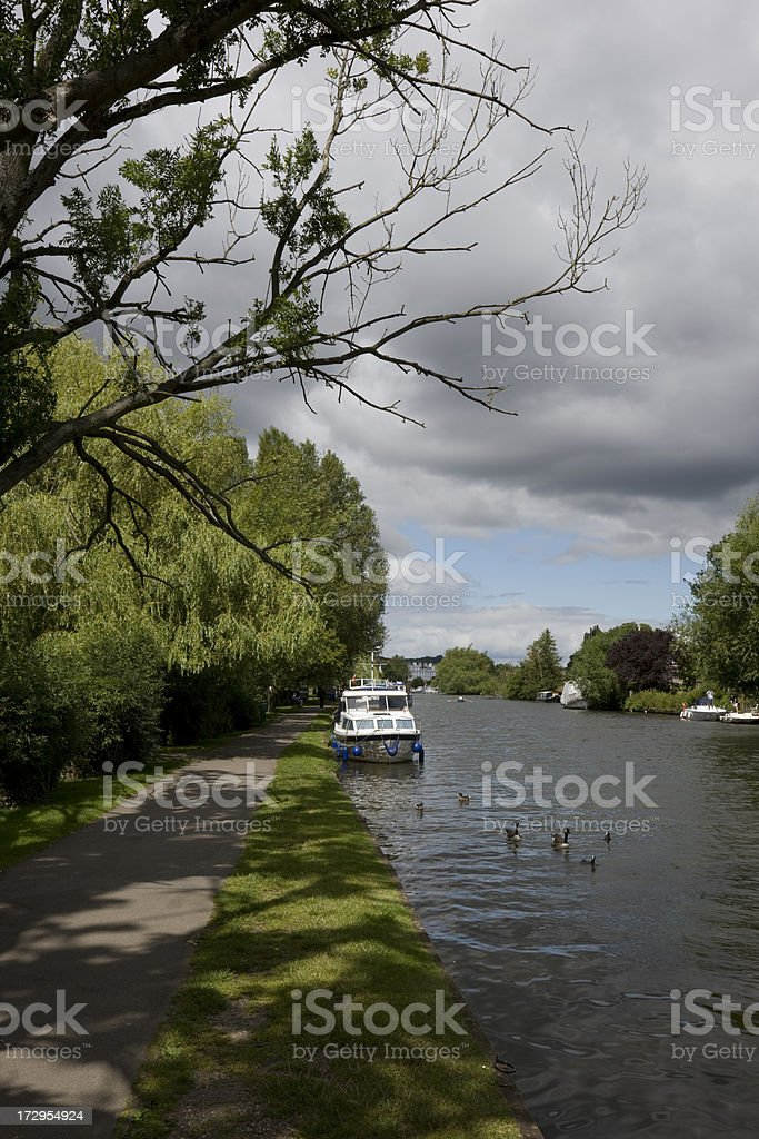 The Thames at Henley stock photo