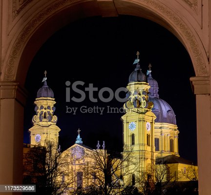 The Theatine Church of St. Cajetan - Theatinerkirche St. Kajetan, a Catholic church in Munich, founded by Elector Ferdinand Maria and his wife, Henriette Adelaide of Savoy.