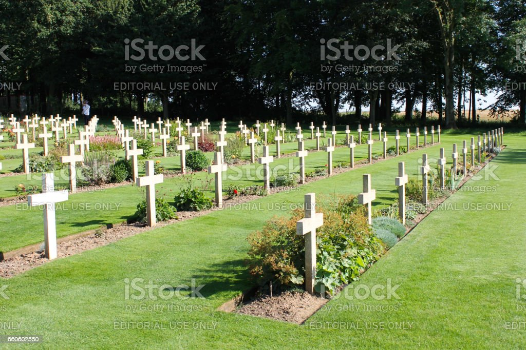 The Thiepval Memorial to the Missing of the Somme battlefields. royalty-free stock photo