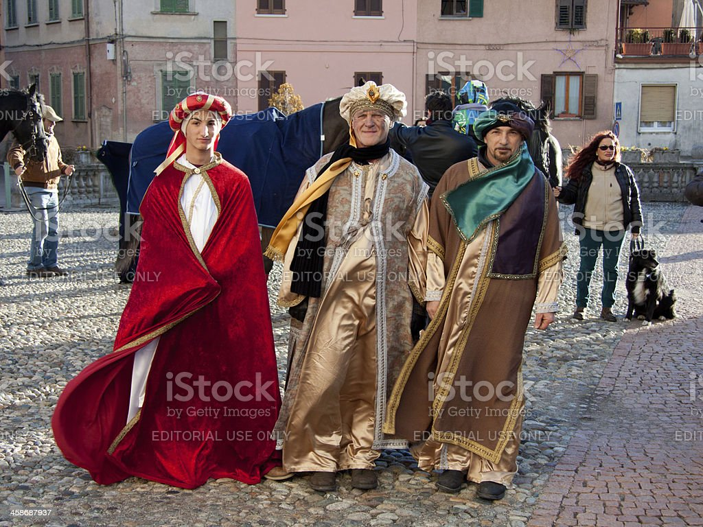 The three Magi stock photo