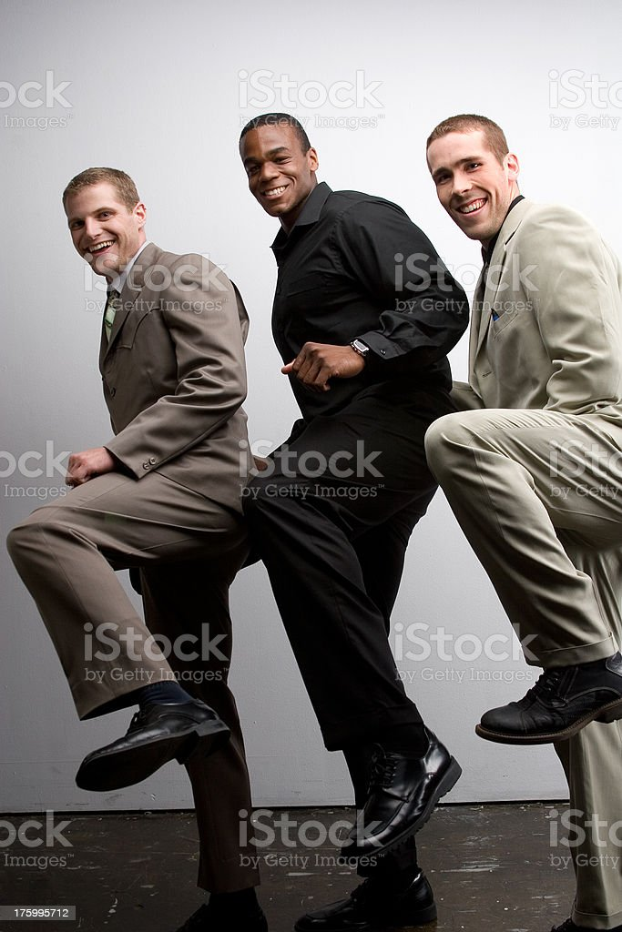 The Three Musketeers royalty-free stock photo