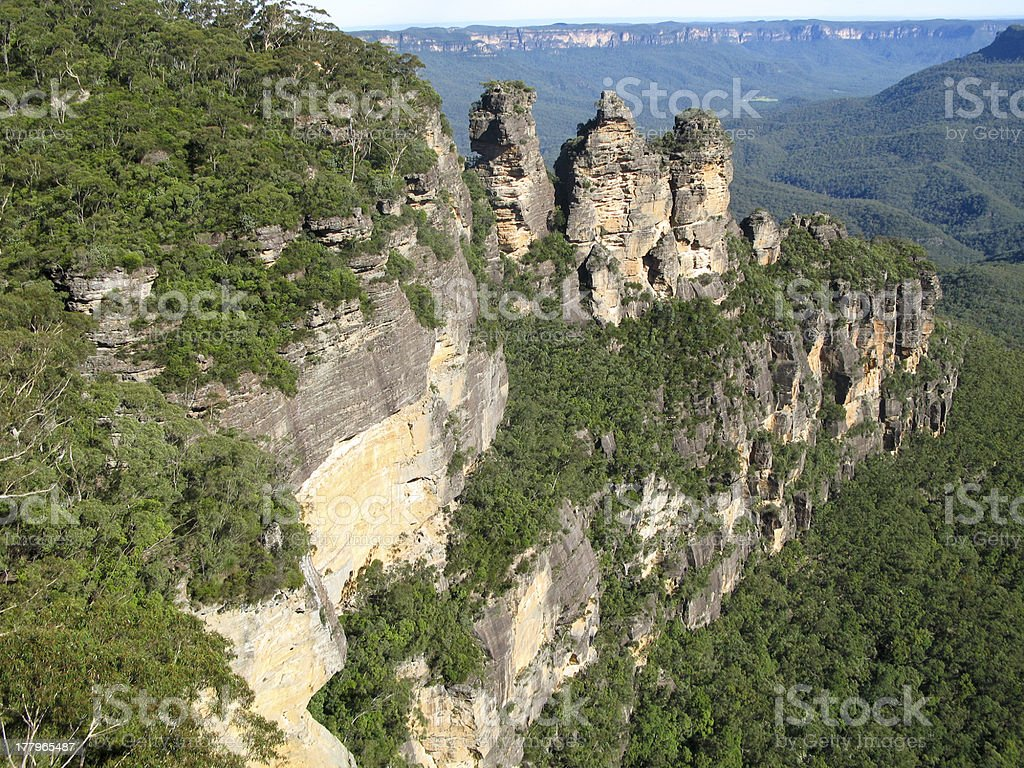 the three sisters stock photo