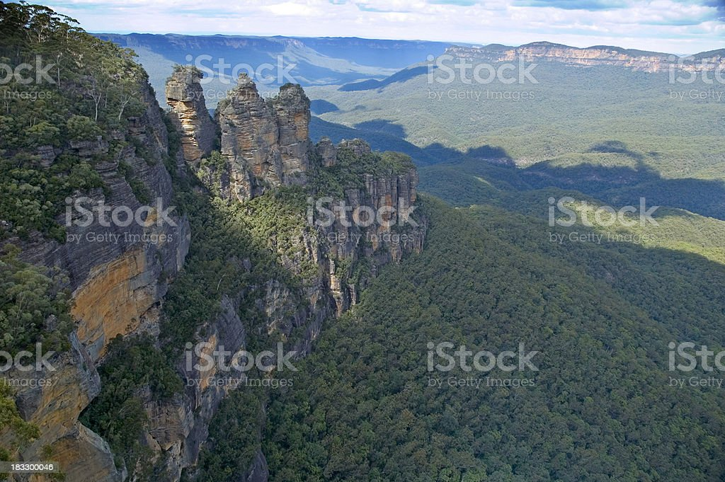 The three sisters royalty-free stock photo