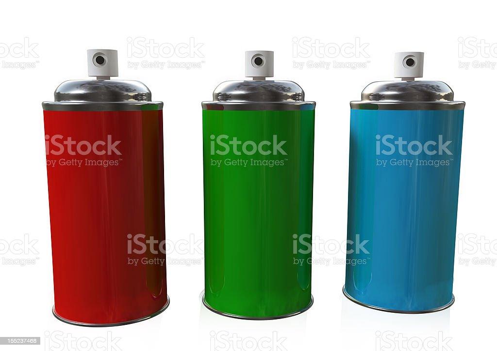 The Three Sprays stock photo