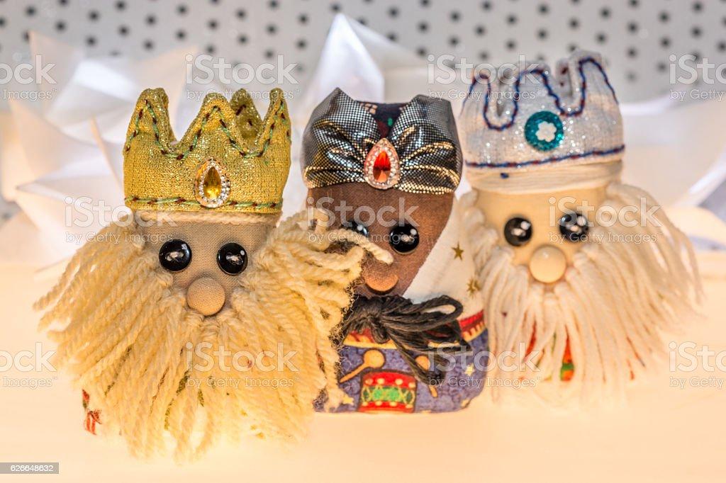 Los tres reyes magos - foto de stock