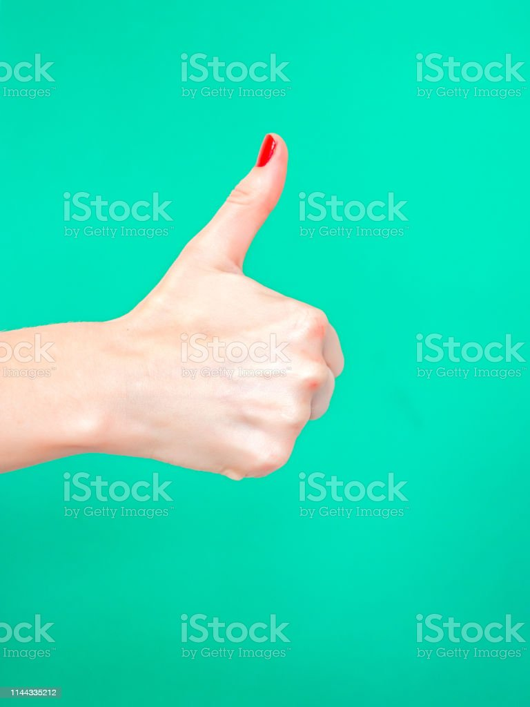 The Thumbs Up Sign. Like Hand Sign. Used when you want to demonstrate...