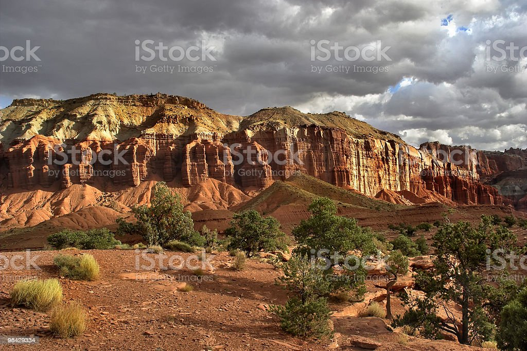The thunder-storm has passed by. royalty-free stock photo