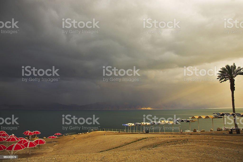 The thunder-storm royalty-free stock photo