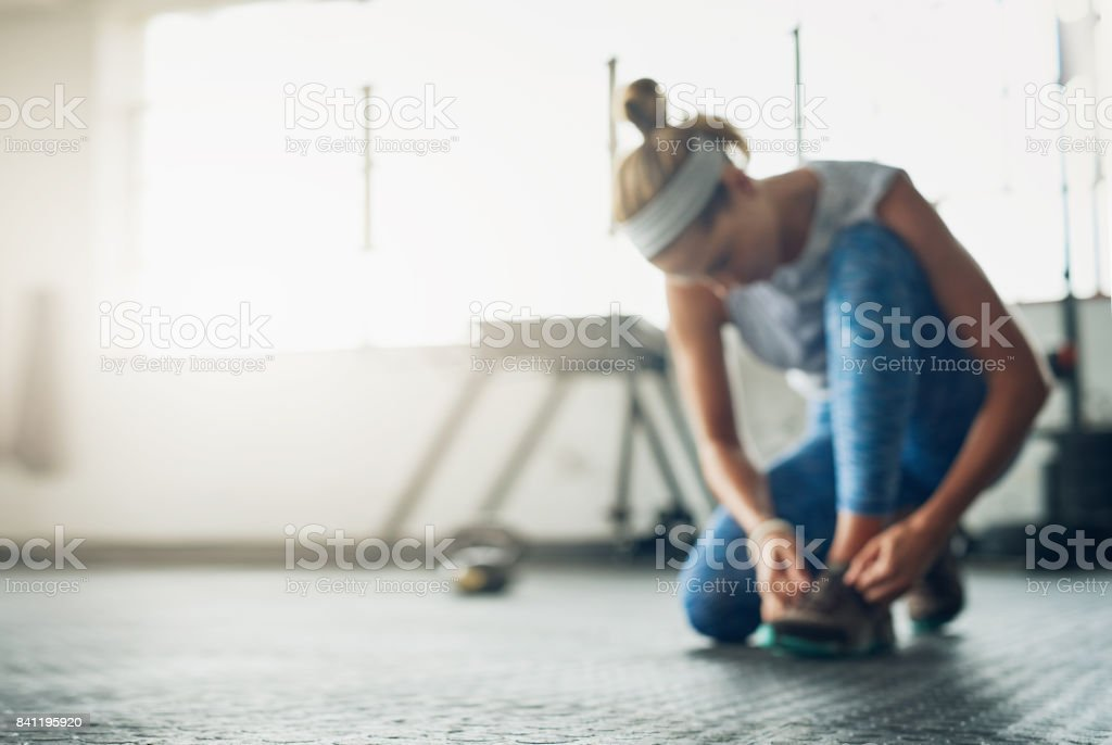 The time to get fit is now stock photo