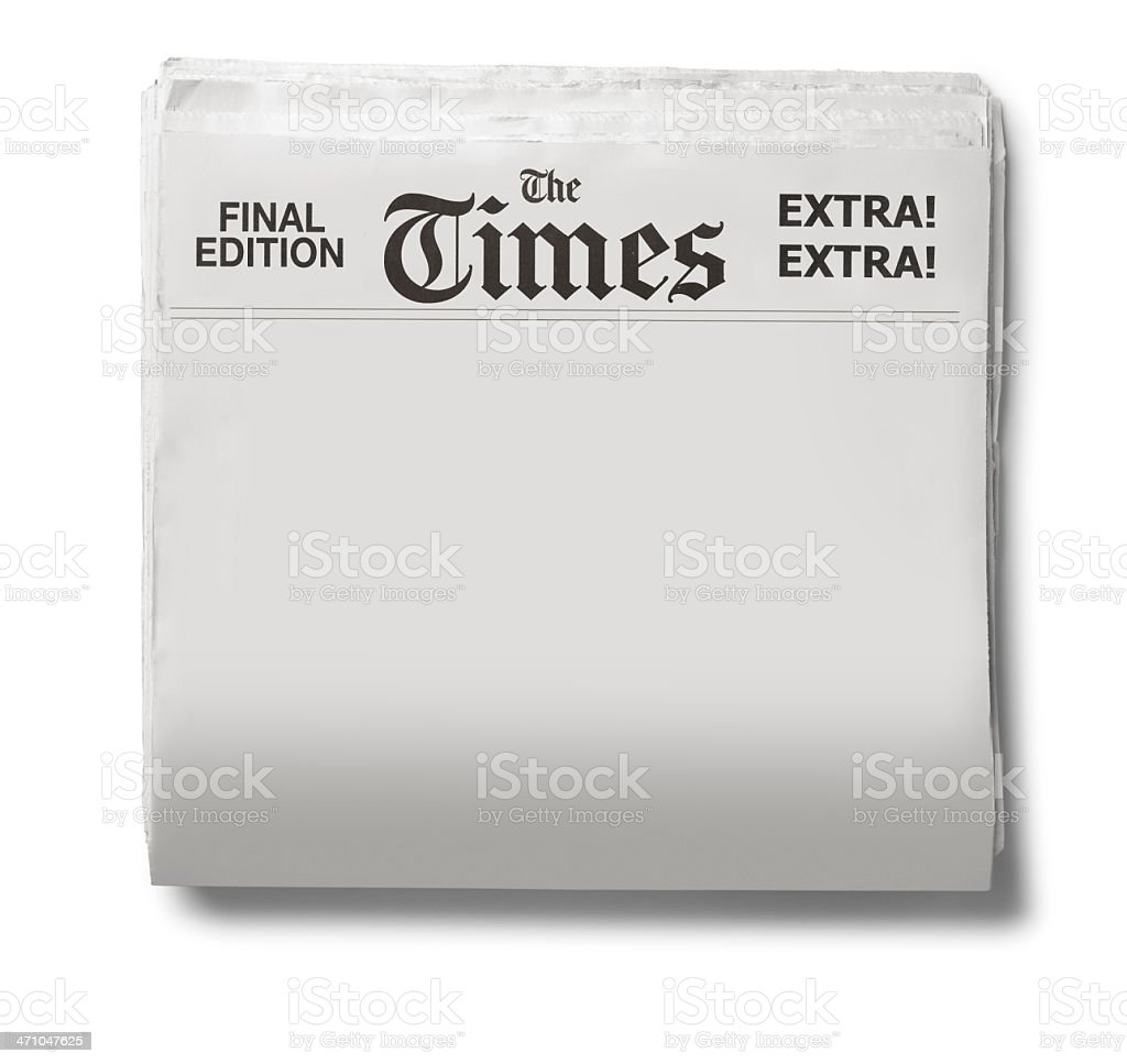 The Times stock photo