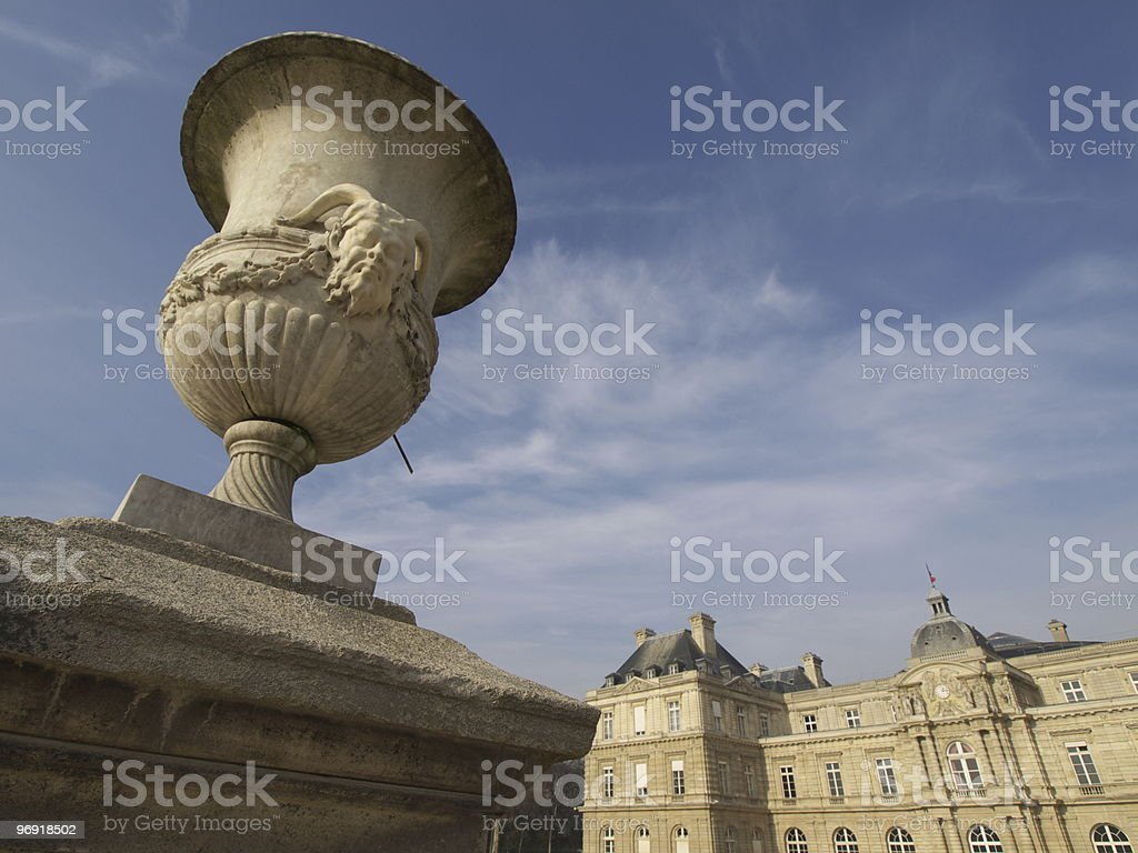 La timbale du jardin royalty-free stock photo