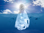The tip of the plastic iceberg pollution