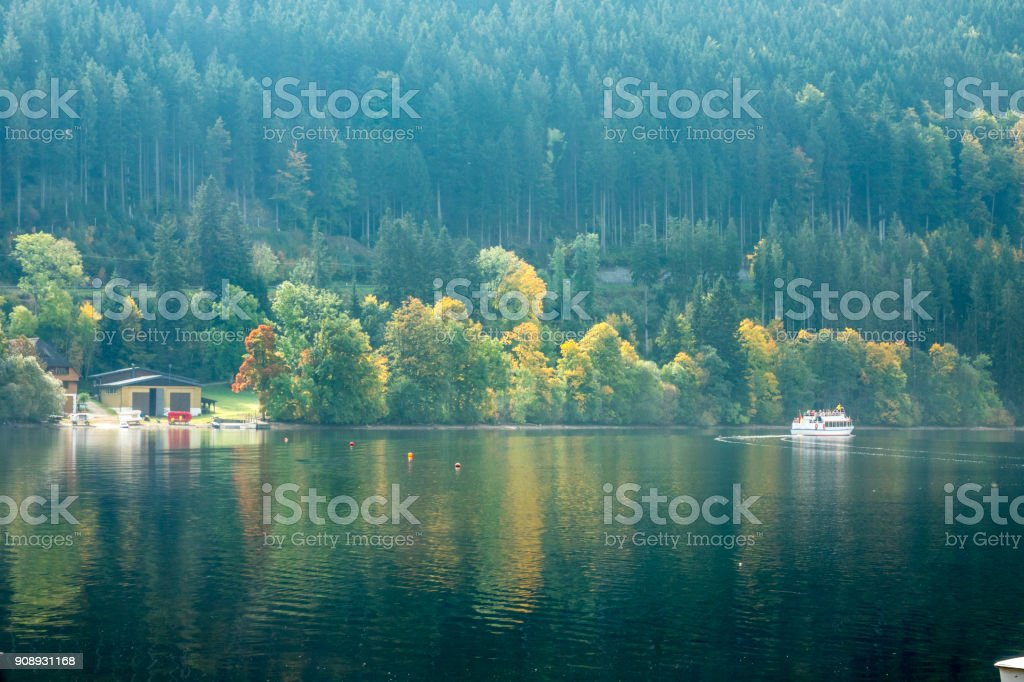 The Titisee Lake stock photo