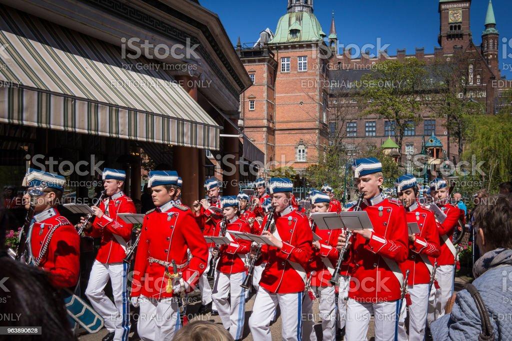 the tivoli youth guard - Royalty-free Capital Cities Stock Photo