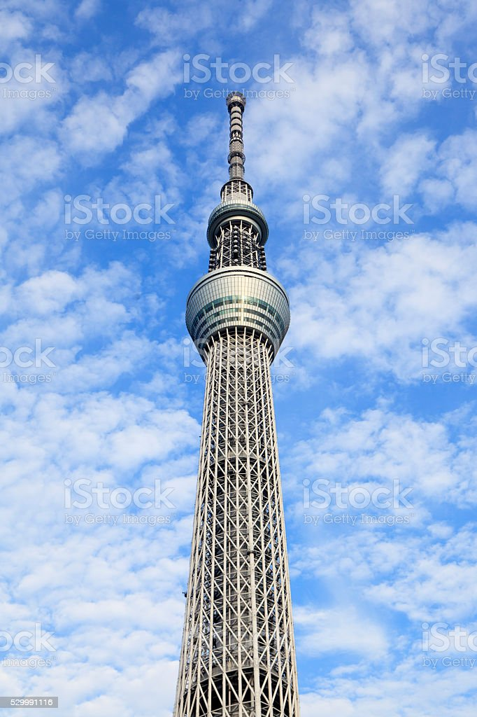 The Tokyo Sky Tree stock photo