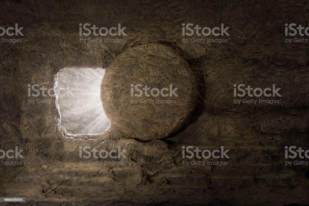 The Tomb of Jesus stock photo