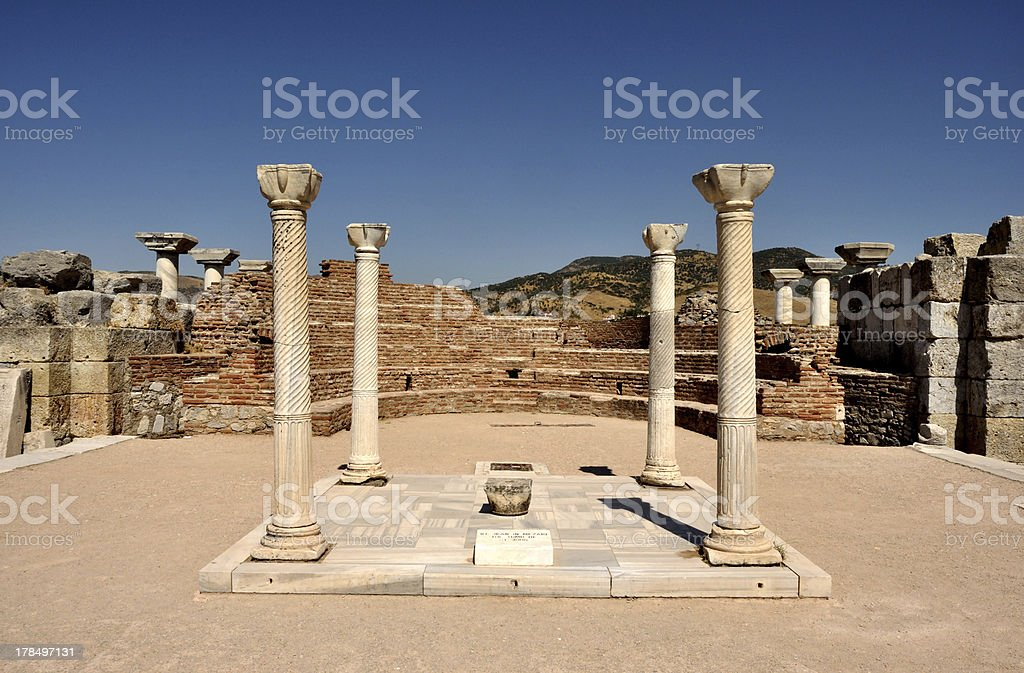 The Tomb of St. John royalty-free stock photo